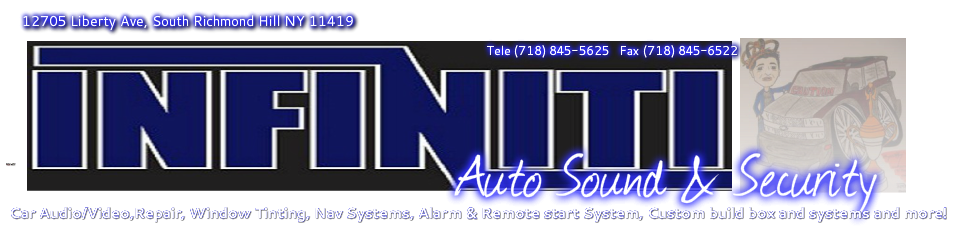 Welcome to infiniti Auto Sound & Security inc